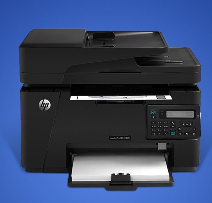 惠普 LaserJet Pro MFP M128fp 黑白激光 打印/复印/扫描/传真 打印一体机