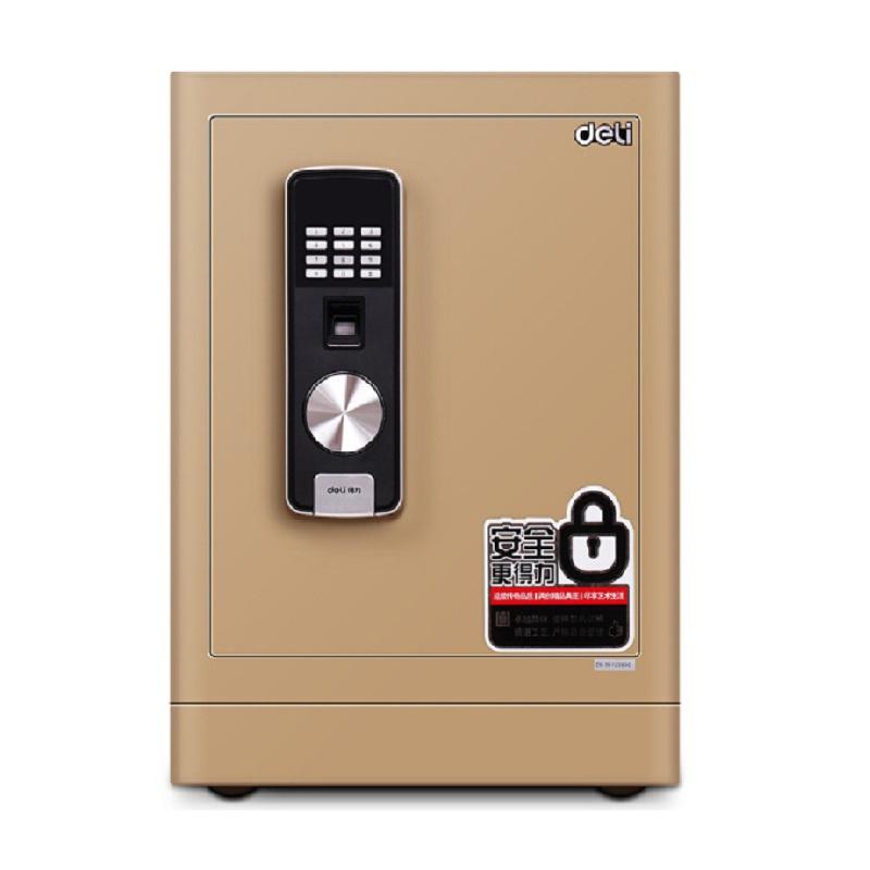 得力(deli)4066 电子指?#21697;?#30423;家用办公保险箱 保险柜