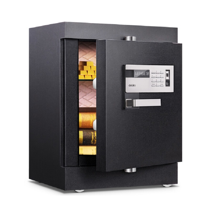得力(deli)4090 指纹保险柜 触控保险箱 家用保险箱办公保险柜
