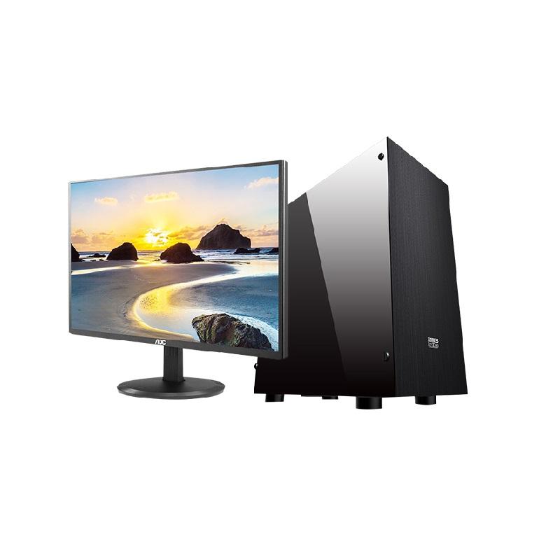 G4560/120G SSD 行政/客服/文员适用 普通办公 台式组装机(20.7寸显示器)