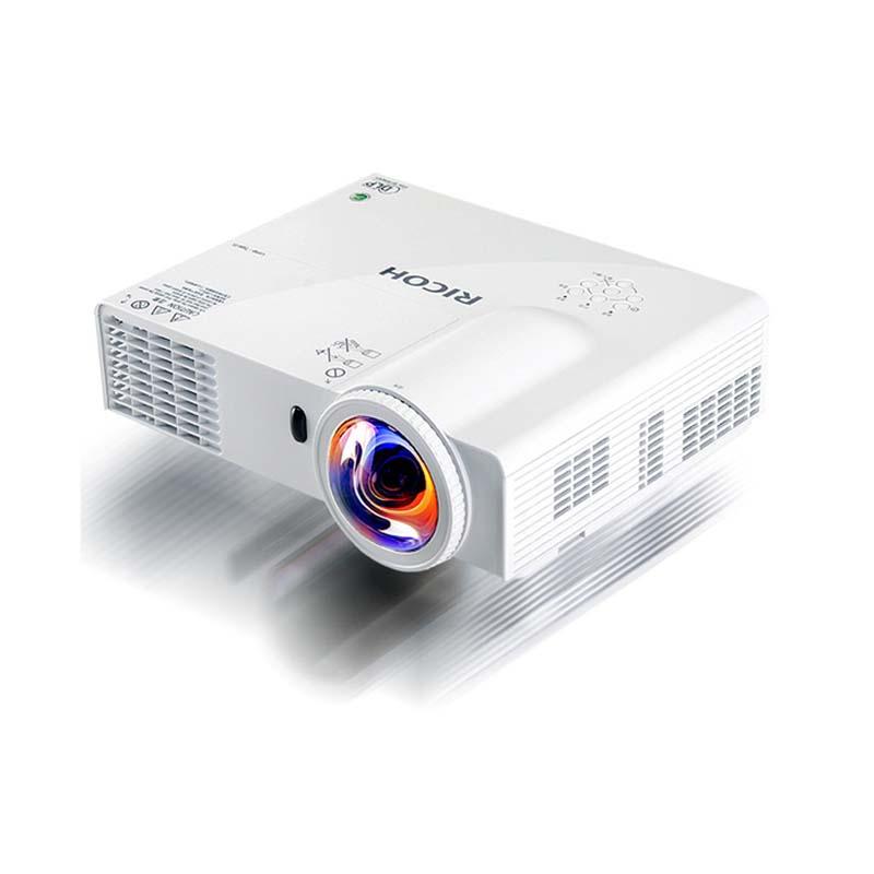理光 PJK366  短焦投影仪 3600流明 (八成新)