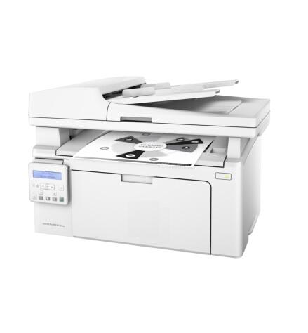 惠普LaserJet Pro MFP M132fw 黑白激光 复印/打印/扫描/传真 打印一体机