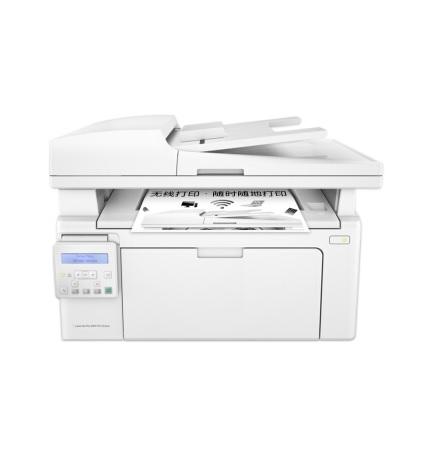 惠普LaserJet Pro MFP M132snw 黑白激光 复印/打印/扫描 打印一体机