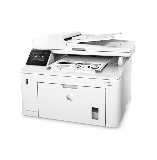 惠普LaserJet Pro MFP M227fdw 黑白激光 復印/打印/掃描/傳真 打印一體機