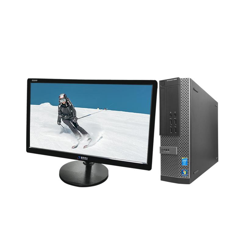 戴尔(Dell)OptiPlex 9020 行政/?#33041;?财务 日常办公适用 品牌台式电脑(21.5英寸)