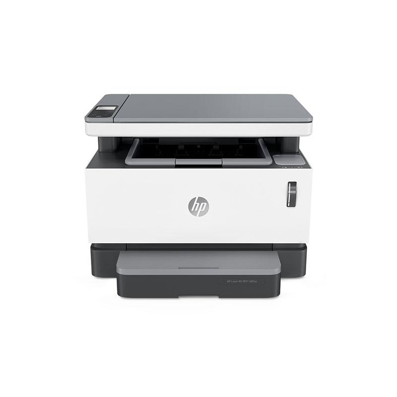 惠普(HP)NS1005W 小型商用辦公適用 無線款創系列 三合一激光打印機+閃充粉盒耗材*4支