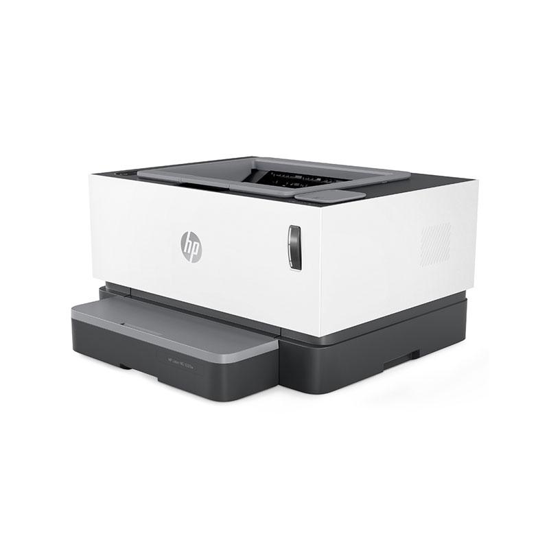 惠普(HP)NS1020W 小型商用办公适用 无线款创系列 激光打印机 +闪充粉盒耗材*4支