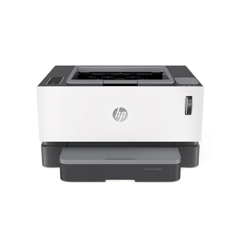 惠普(HP)NS1020W 小型商用办公适用 无线款创系列 激光打印机 +闪充粉盒耗材*2支