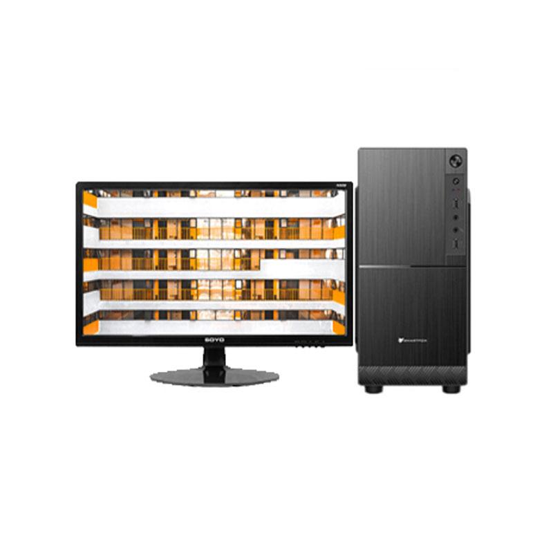 I3系列 行政/文員/財務適用 日常辦公 組裝臺式電腦(24英寸)