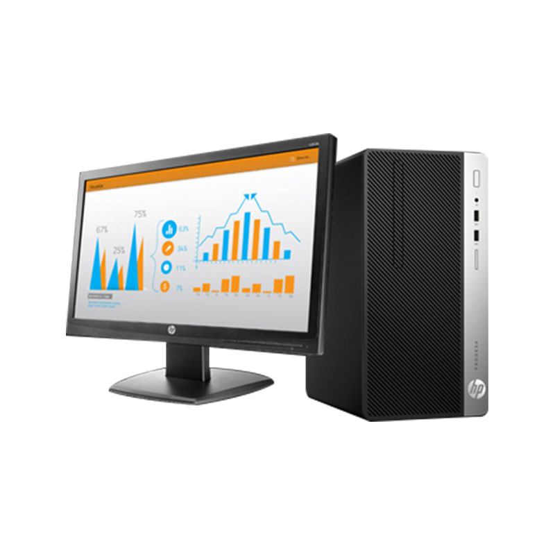 惠普(HP)Pro400 G5 SFF 行政/文員/財務適用 商用辦公 小機箱 臺式整機(21.5英寸)