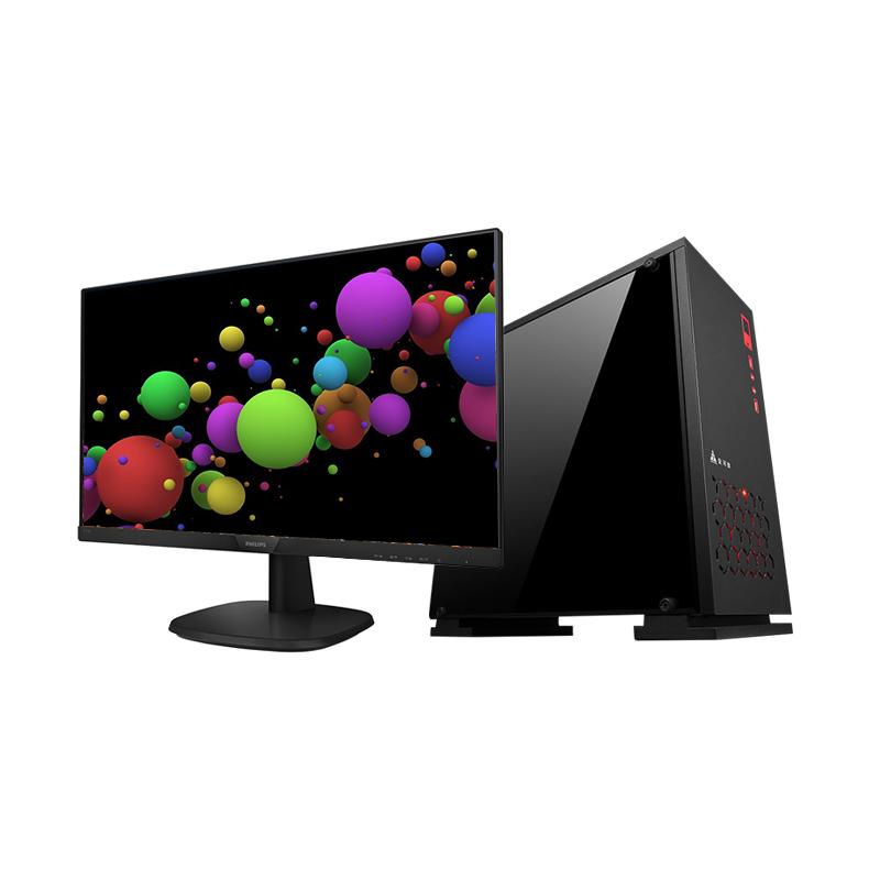 UI设计X33Plus 大数据开发/UI设计适用 专业定制办公 组装台式电脑(飞利浦27英寸)