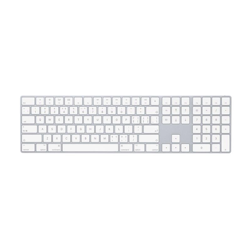 苹果周边 —妙控键盘带数字键盘/无线蓝牙