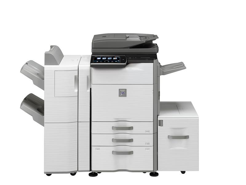 夏普MX-M365N黑白数码复合机(带身份证复印功能,CAD,PDF打印传输更快,支持彩色扫描)